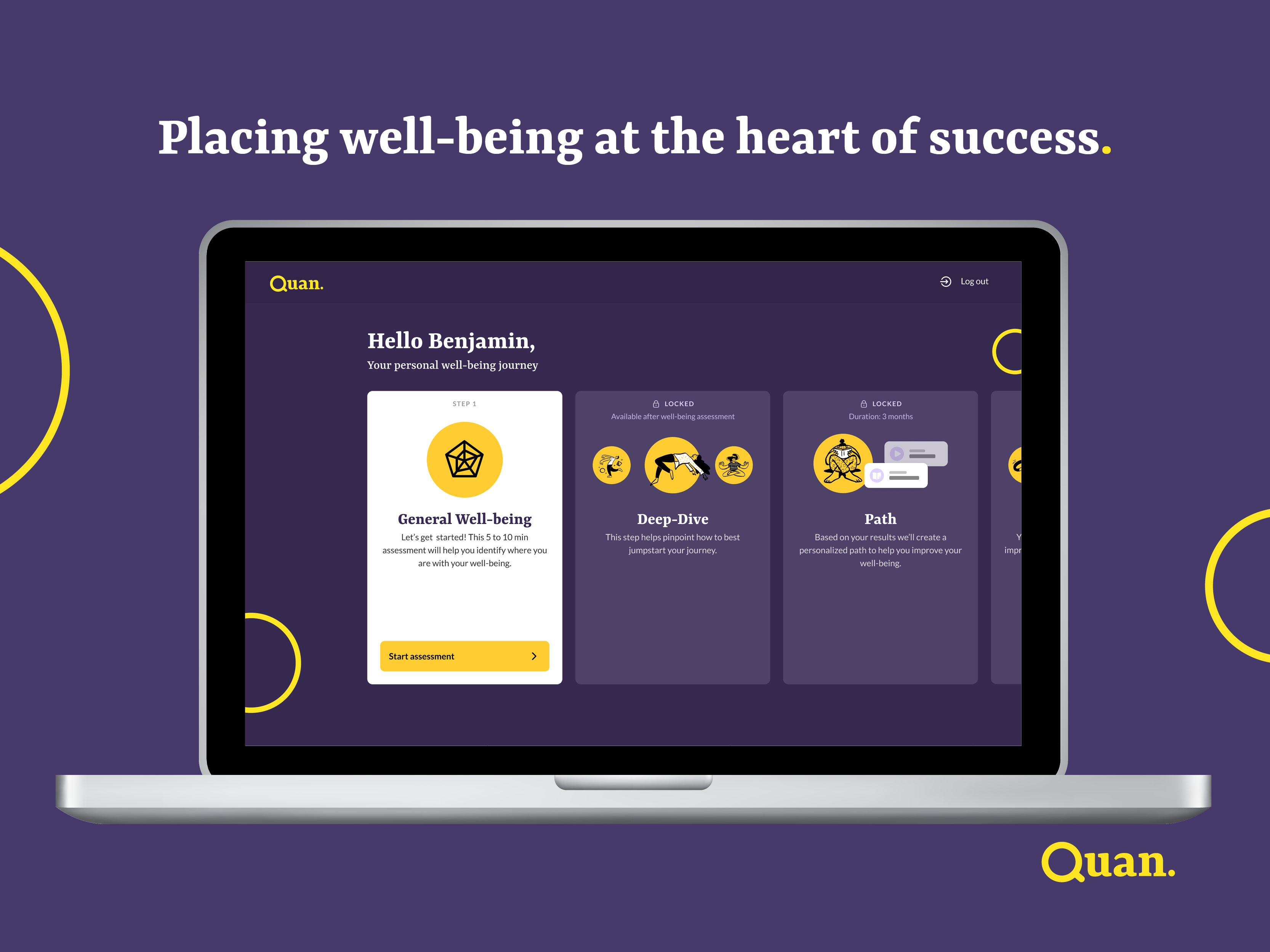 Quan well-being platform